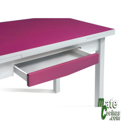 Mesa extensible lateral